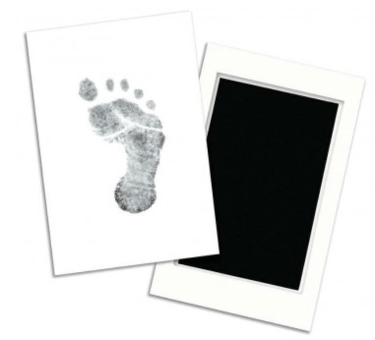 fodaftryk, håndaftryk, dåbsgaver